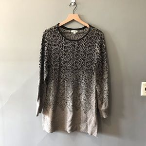 style & co. sweater dress tunic